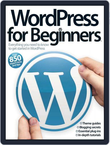 Wordpress For Beginners Vol 1 Magazine (Digital) July 25th, 2012 Issue Cover