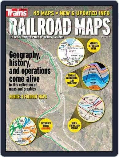 Railroad Maps Magazine (Digital) July 19th, 2013 Issue Cover