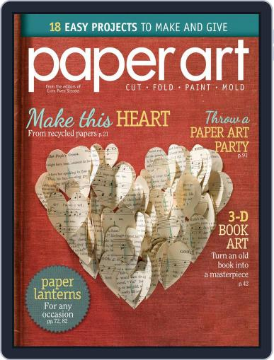 Paper Art Magazine (Digital) July 18th, 2014 Issue Cover