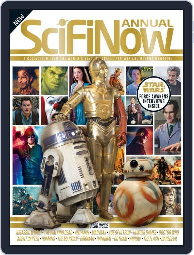 SciFiNow Annual Volume 1 Magazine (Digital) November 11th, 2015 Issue Cover