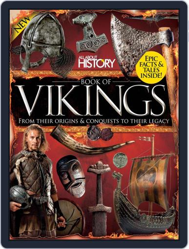 All About History Book of Vikings Magazine (Digital) December 1st, 2016 Issue Cover