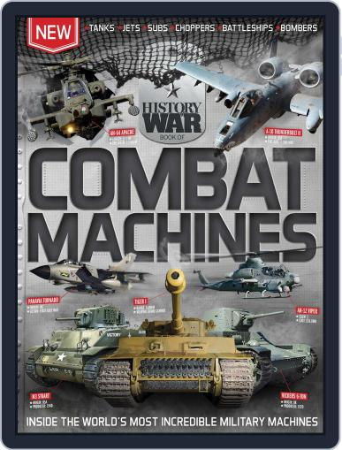 History of War Book of Combat Machines Magazine (Digital) June 1st, 2016 Issue Cover