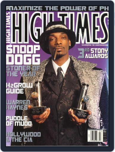 High Times- Stoner of the Year: Snoop Dogg Magazine (Digital) September 17th, 2009 Issue Cover