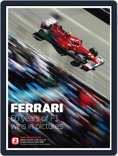 Ferrari - The world's greatest F1 team in pictures Magazine (Digital) August 31st, 2011 Issue Cover