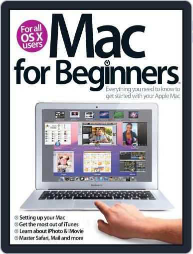 Mac For Beginners 2nd Revised Edition Magazine (Digital) September 20th, 2012 Issue Cover