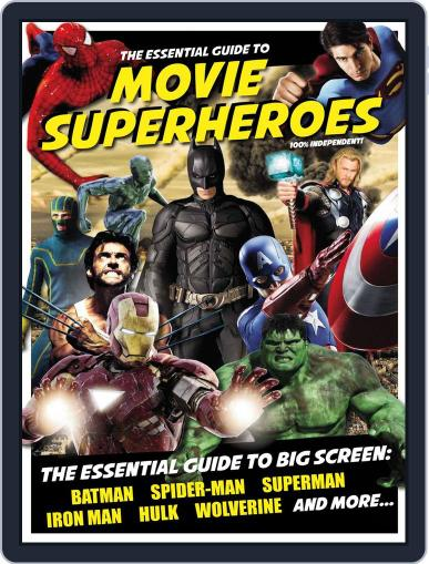 Essential Guide to Movie Superheroes Magazine (Digital) February 11th, 2013 Issue Cover