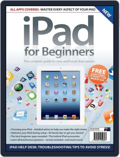 iPad for Beginners Australia Magazine (Digital) April 24th, 2013 Issue Cover