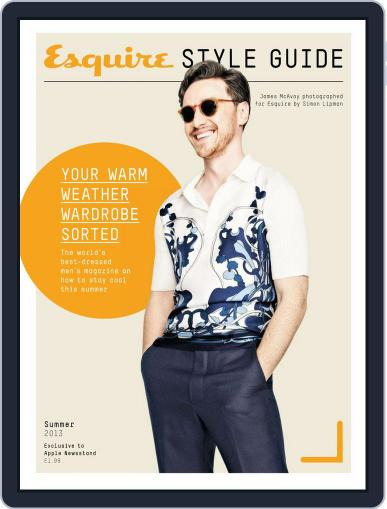 Esquire Summer Style Guide 2013 Magazine (Digital) June 6th, 2013 Issue Cover