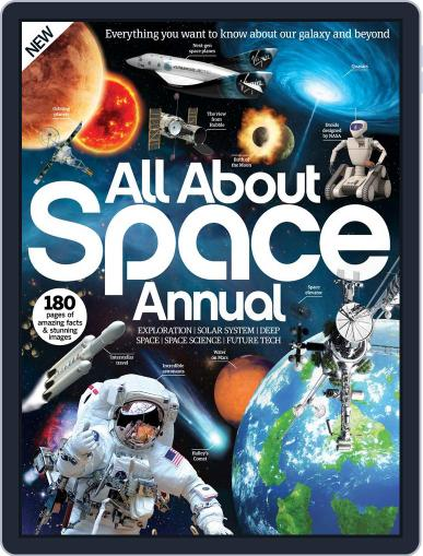 All About Space Annual Magazine (Digital) November 1st, 2016 Issue Cover