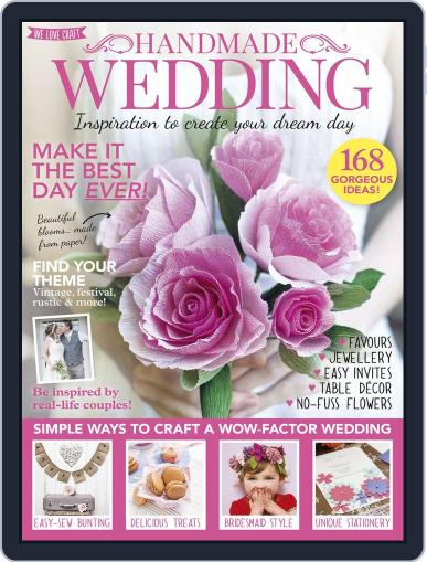Handmade Weddings Magazine (Digital) April 1st, 2016 Issue Cover