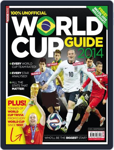 World Cup Guide 2014 Magazine (Digital) May 22nd, 2014 Issue Cover