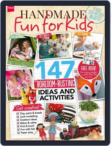 Handmade Fun for Kids Magazine (Digital) August 5th, 2014 Issue Cover