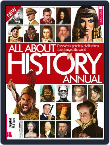 All About History Annual Magazine (Digital) January 1st, 2018 Issue Cover