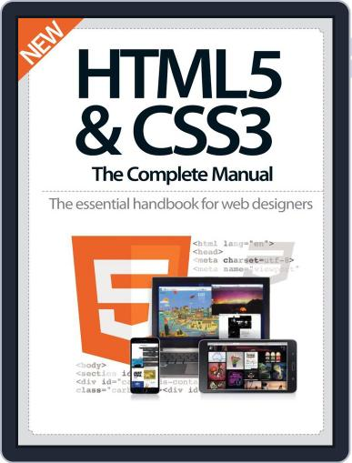 HTML5 & CSS3 The Complete Manual Magazine (Digital) December 10th, 2014 Issue Cover