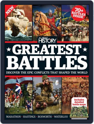 All About History Book Of Greatest Battles Magazine (Digital) November 1st, 2016 Issue Cover