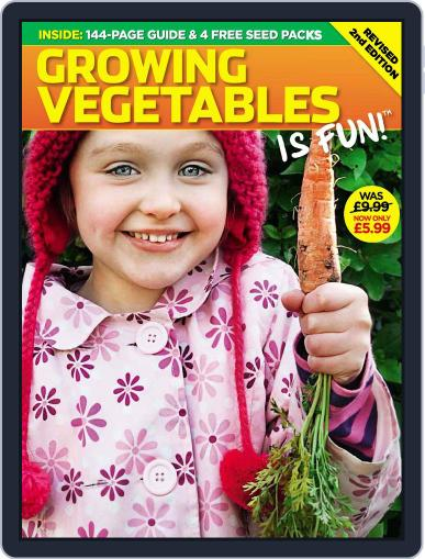 Growing Vegetables is Fun Magazine (Digital) November 20th, 2009 Issue Cover