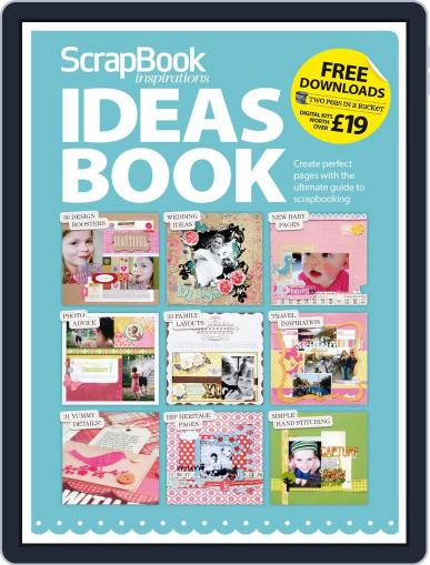 ScrapBook inspirations - Ideas Book Magazine (Digital) July 12th, 2010 Issue Cover