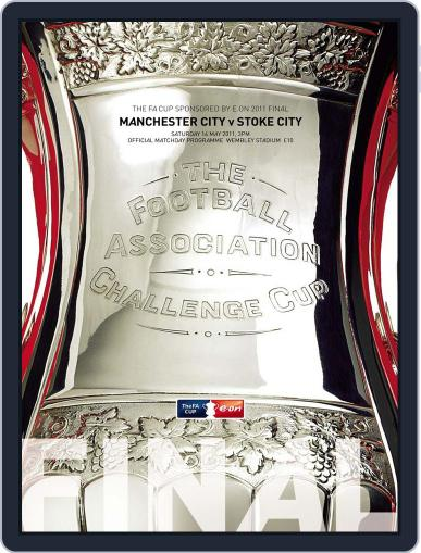 The FA Cup Final 2011 Official Programme Magazine (Digital) May 12th, 2011 Issue Cover