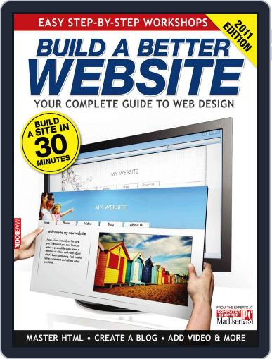 Build a Better Website 2011 Magazine (Digital) May 20th, 2011 Issue Cover