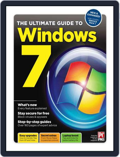 The Ultimate Guide to Windows 7 SP1 Magazine (Digital) May 31st, 2011 Issue Cover