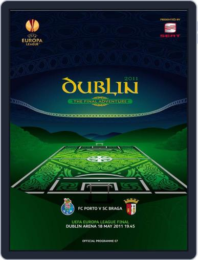 UEFA Europa League final official matchday programme Magazine (Digital) May 19th, 2011 Issue Cover