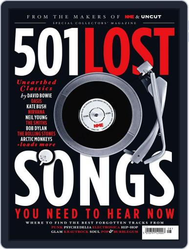 NME Icons 501 Lost Songs Magazine (Digital) May 25th, 2016 Issue Cover