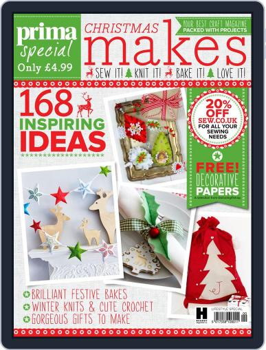Prima Christmas Makes United Kingdom Magazine (Digital) September 29th, 2015 Issue Cover