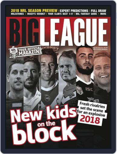 Big League: NRL Season Preview Magazine (Digital) February 1st, 2018 Issue Cover