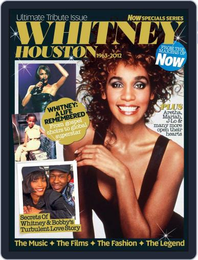 Whitney Houston - Now Special Series Magazine (Digital) February 14th, 2012 Issue Cover