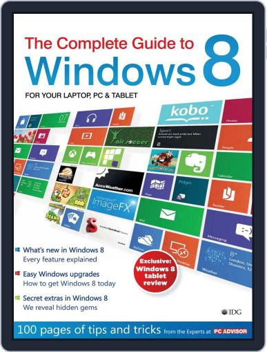 The Complete Guide to Windows 8 Magazine (Digital) May 9th, 2012 Issue Cover
