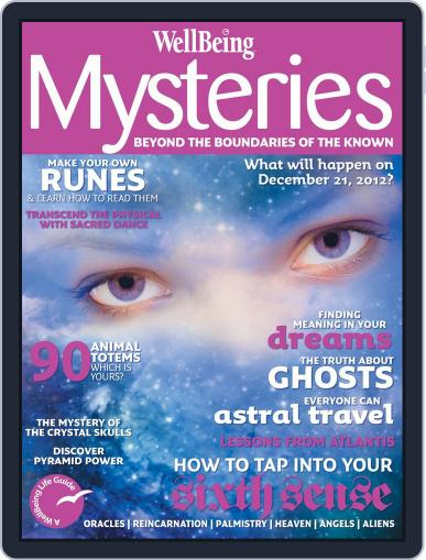 WellBeing Mysteries Magazine (Digital) September 10th, 2012 Issue Cover