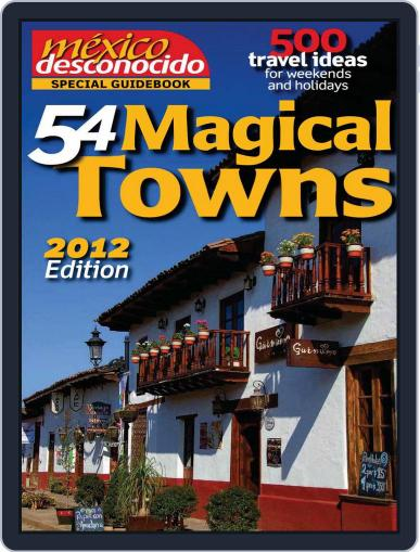 Special Guidebook 54 Magical Towns Magazine (Digital) September 13th, 2012 Issue Cover