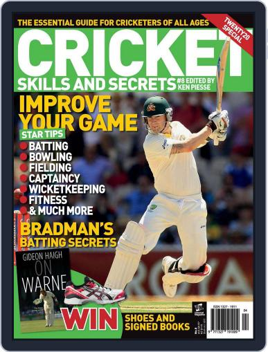 Cricket Skills and Secrets Magazine (Digital) October 8th, 2012 Issue Cover