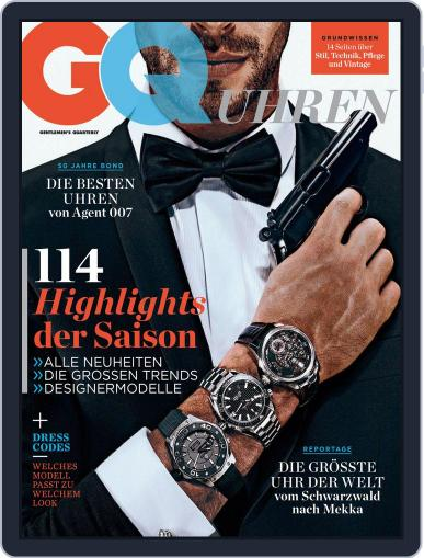 GQ Uhren Magazine (Digital) November 1st, 2012 Issue Cover