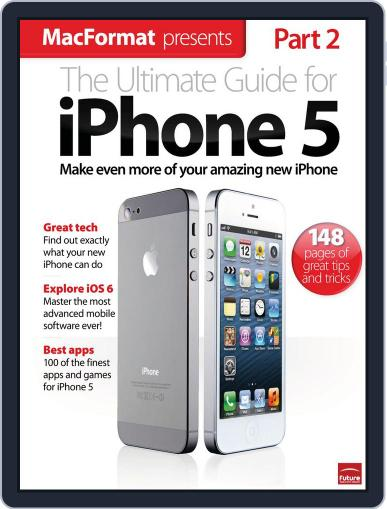 The Ultimate Guide to iPhone 5 Magazine (Digital) January 1st, 2013 Issue Cover