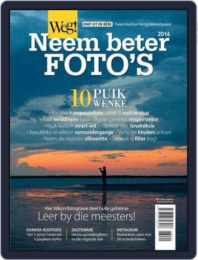 Weg! Photography Magazine (Digital) January 1st, 2016 Issue Cover