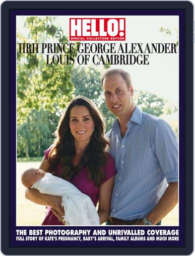 HELLO! Prince George Souvenir Edition Magazine (Digital) August 26th, 2013 Issue Cover