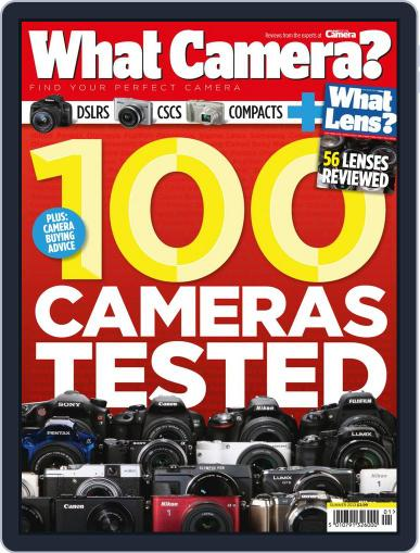 What Camera & Lens Magazine (Digital) September 27th, 2013 Issue Cover