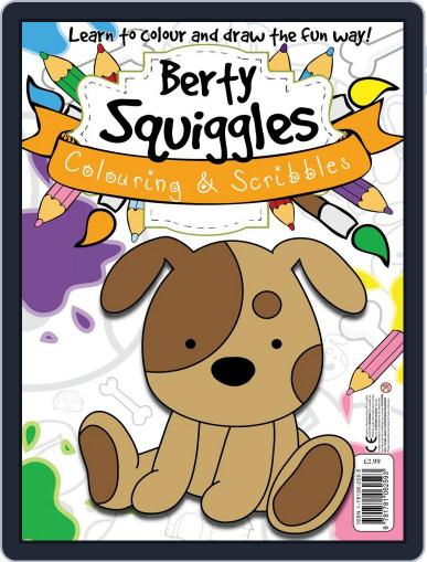 Berty Squiggles Colouring & Scribbles Magazine (Digital) October 2nd, 2013 Issue Cover