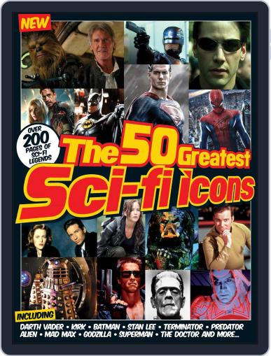 The 50 Greatest SciFi Icons Magazine (Digital) December 2nd, 2015 Issue Cover