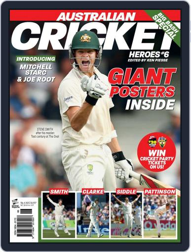 Australian Cricket Heroes Magazine (Digital) October 29th, 2013 Issue Cover