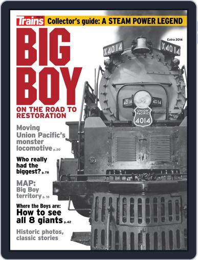 Big Boy: On the Road to Restoration Magazine (Digital) April 11th, 2014 Issue Cover