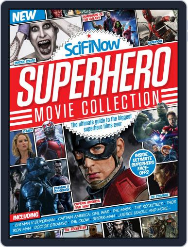 SciFiNow Superhero Movie Collection Magazine (Digital) May 3rd, 2016 Issue Cover
