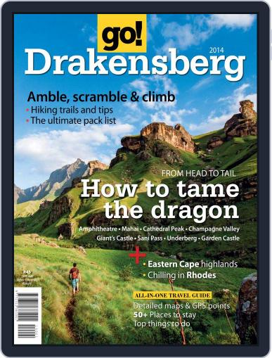 Go! Drakensberg Magazine (Digital) June 26th, 2014 Issue Cover