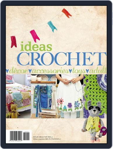 Ideas Crochet Magazine (Digital) August 4th, 2014 Issue Cover