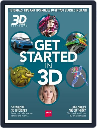 Get Started in 3D Magazine (Digital) August 5th, 2014 Issue Cover