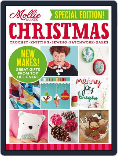 Mollie Makes Christmas Magazine (Digital) September 10th, 2014 Issue Cover