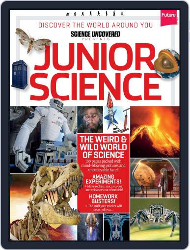 Junior Science Magazine (Digital) September 15th, 2014 Issue Cover