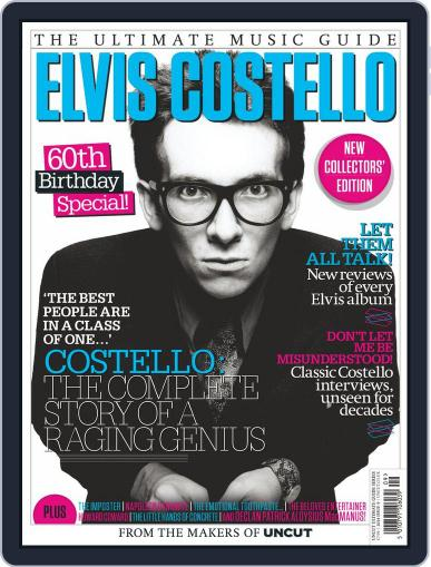 Elvis Costello - The Ultimate Music Guide Magazine (Digital) September 25th, 2014 Issue Cover