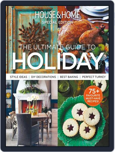 House & Home: Holiday Magazine (Digital) November 4th, 2014 Issue Cover